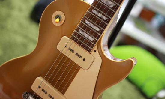 ギターのネック折れ修理完了