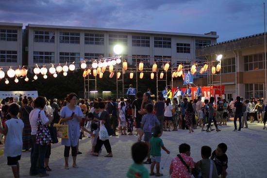 夏祭りステージ