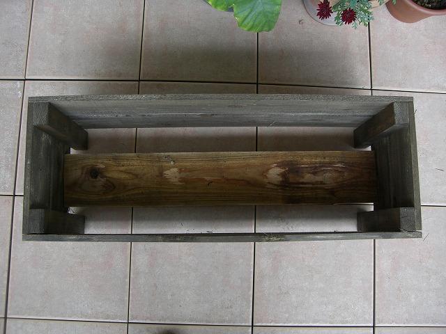 木製プランターカバー-DIY-