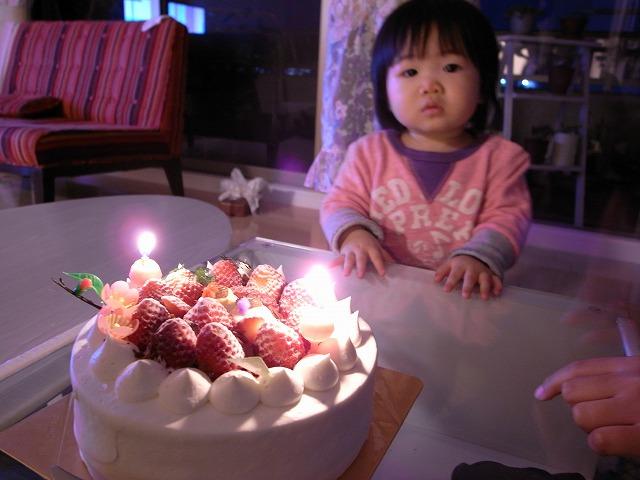 ケーキと京那