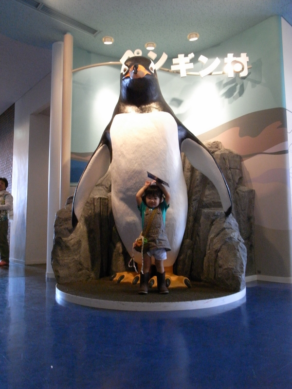 ペンギンさんと京那