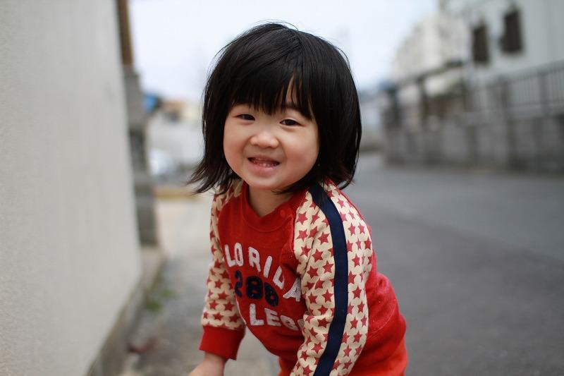 京那の笑顔