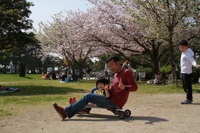 パパと京那